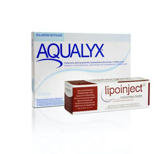 Buy Aqualyx (10 x 8ml) + 24G 100mm LipoInject Needles (20pc)