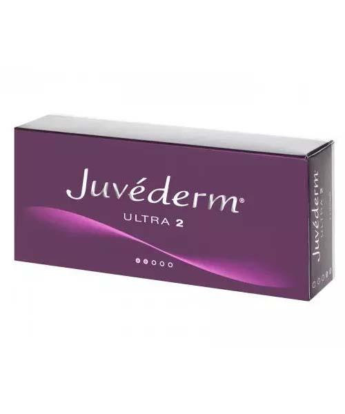 Juvederm Ultra 2 Lidocaine (2 x 0.55ml)